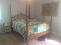 Antique Queen size bed in Clarksville, Tennessee