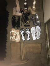 Ten pairs of size 7 shoes in Travis AFB, California