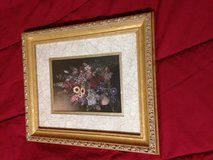 GOLD FRAMED FLORAL PICTURE in Kingwood, Texas