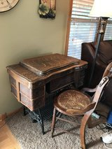 White Co Sewing Machine in Cabinet in Lockport, Illinois