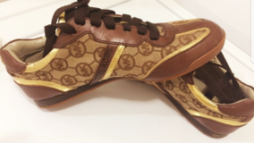 Michael kors brown tennis shoes in Phoenix, Arizona