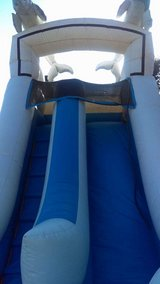 18feet  Dolphins water slide in Fairfield, California