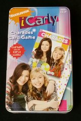 iCarly Charades Card Game in Collector Tin in Columbus, Georgia