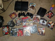 PS3 Slim & Many Games in Fort Benning, Georgia