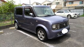 2004 Nissan Cube 3rows. Low milage. New JCI and Road tax included, Clean 7 seater in Okinawa, Japan