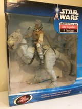 Large Luke Skywalker and Tauntaun in Okinawa, Japan