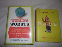 'World's Worsts' and 'Book of RUDE' in Warner Robins, Georgia