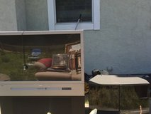 Tv and stand in Vacaville, California