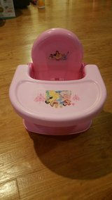 Disney Princess booster seat in Fort Belvoir, Virginia