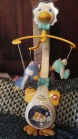 Vtech crib mobile w/calming music and light in Ramstein, Germany