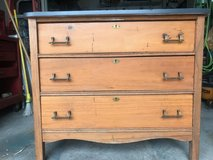 Vintage Dresser with Nautical Map Top in Cherry Point, North Carolina