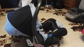 Rome baby safe snugride w/conope and double safety pillow in Ramstein, Germany