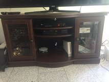 Brown TV stand in Ramstein, Germany