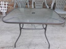 Glasstop Patio Table in Fort Campbell, Kentucky