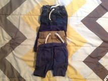 4 BABY SHORTS SIZE 6-12 MONTHS in Cherry Point, North Carolina