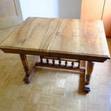 Antique Solid Wood Dining Room Table in Ramstein, Germany