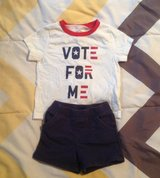 BABY OUTFIT, SHORTS SIZE 6 MONTHS in Cherry Point, North Carolina