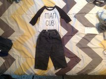 BABY OUTFIT SIZE 6-12 MONTHS in Cherry Point, North Carolina