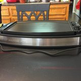 NEW Wolfgang Puck Electric Reversible Grill and Griddle  * 1800-watt reversible in Kingwood, Texas