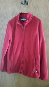 2 Red Fleece Jackets in Chicago, Illinois