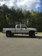 Lifted Chevy Silverado in Ramstein, Germany