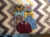 7 BABY LONG SLEEVES SHIRTS. SIZE 18 MONTHS in Cherry Point, North Carolina