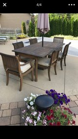 teak patio furniture in Naperville, Illinois