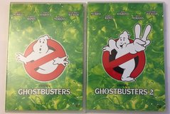 Ghostbusters 1 & 2 DVD Movie Lot Ghost Busters CLASSIC in Kingwood, Texas