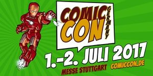 Comic Con Germany on July, 1st 2017 in Stuttgart.(SOLD OUT) in Ramstein, Germany