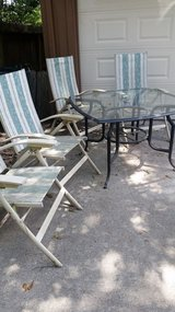 Table with four chairs in Kingwood, Texas