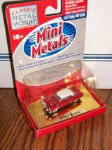 Mini Metals HO Scale '53 Ford Victoria in Red/White Two Tone Paint in Joliet, Illinois