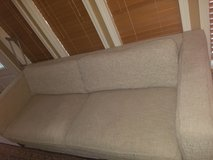 tweed beige couch, chair, ottoman in Kingwood, Texas