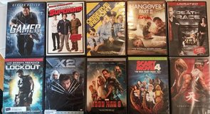DVD movies in Vacaville, California