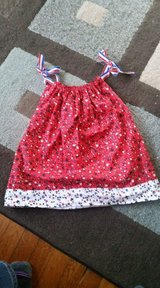 Toddler pillow case dress perfect for a home coming in Watertown, New York