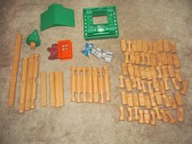84 pieces of Lincoln Logs in Fort Benning, Georgia