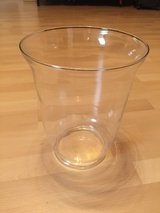 "Glass vase 11"" tall in Baumholder, GE"