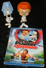 Mr. Peabody & Sherman Blu-Ray DVD + Bobble Head Toys in Kingwood, Texas