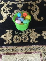 Easter Eggs and Bucket in Camp Pendleton, California
