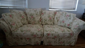 floral sofa in Fairfield, California
