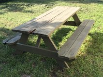 Picnic Table in Perry, Georgia