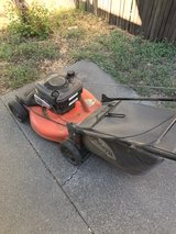lawn mower in Vacaville, California