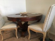 Round Solid Wood Dining Table in Lawton, Oklahoma