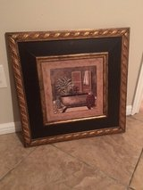 Classy Bath picture in frame in Kingwood, Texas