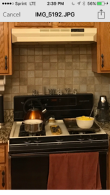 """Whirlpool Beige/Bisque 30"""" Gas Oven/Range and Hood Fan in Algonquin, Illinois"""