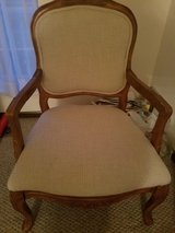 2 French arm chairs in great condition in Oswego, Illinois