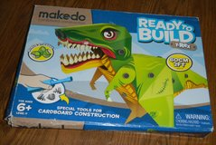 Makedo Ready To Build T-Rex Dinosaur Arts & Craft Project NEW in Kingwood, Texas