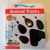 NEW SEALED Discovery BOX Animal Tracks Book and Activity Kit in Naperville, Illinois