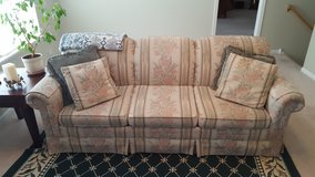 Flexsteel Couch with hide-a-bed in Naperville, Illinois