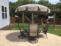Tropitone Patio Table, 4 Chairs and Umbrella in Naperville, Illinois