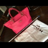 Coach Pink Satchel Purse in Ramstein, Germany